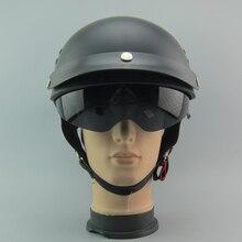 2016 New arrival TORC T-55 motorcycle helmet retro vintage Halley half helmet moto helmet DOT approved