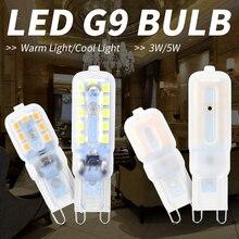 G9 LED Lamp 220V Corn Bulb Led Bombillas 3W 5W Mini SMD2835 Spotlight g9 Replace Halogen Chandelier Decoration