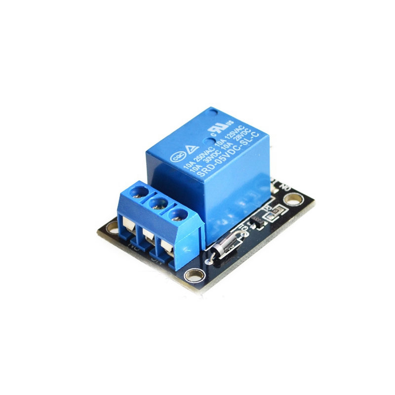 1 Channel 5V Relay Module for arduino 1-Channel realy KY-019 relay shield v1 0 5v 4 channel relay module for arduino works with official arduino boards