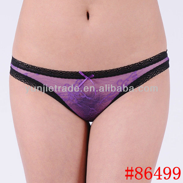 Promotion Sexy lady panties sexy sheer lace women underwear lady ...