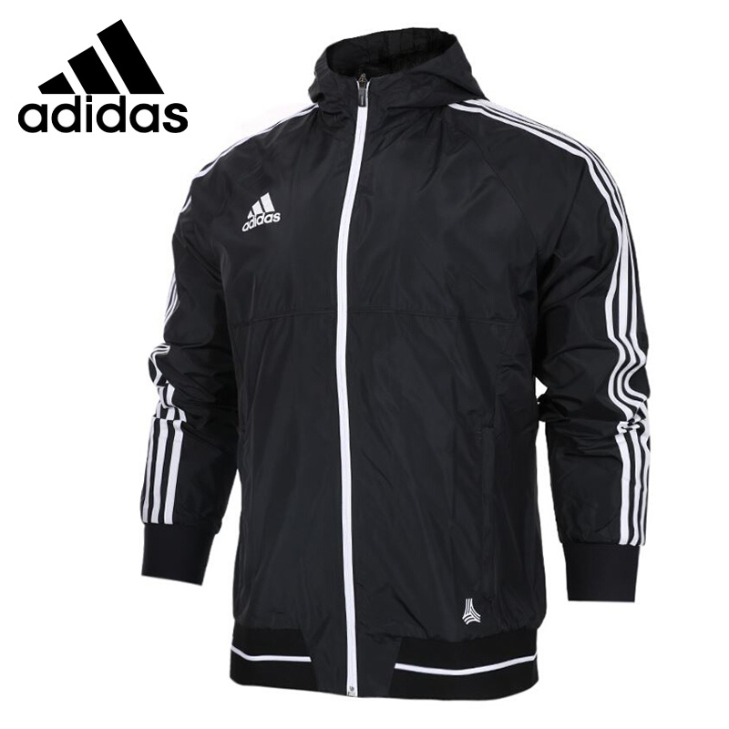 Original New Arrival Adidas TAN LT WOV JKT Men's jacket Hooded Sportswear original new arrival 2017 nike as m nk imp lt jkt hd men s jacket hooded sportswear