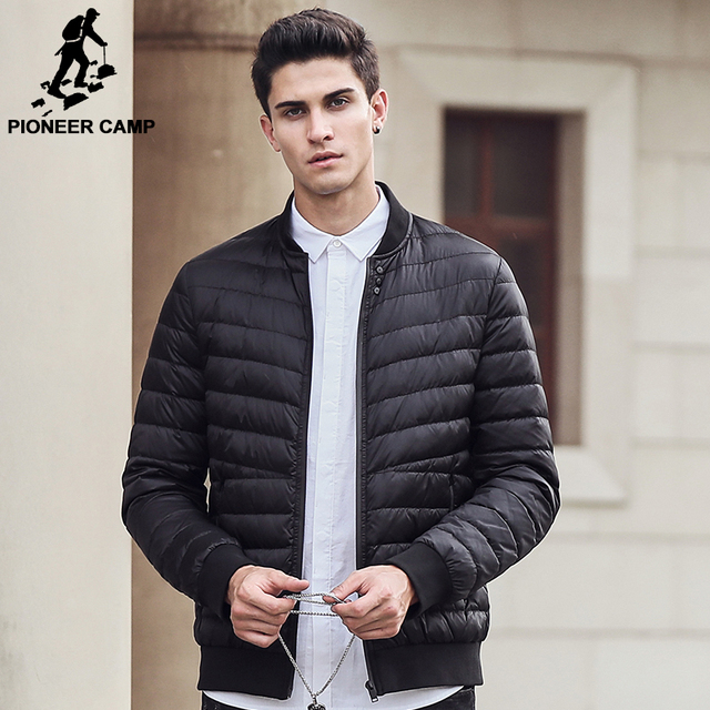 Aliexpress.com : Buy Pioneer Camp brand clothing thin down jacket ...