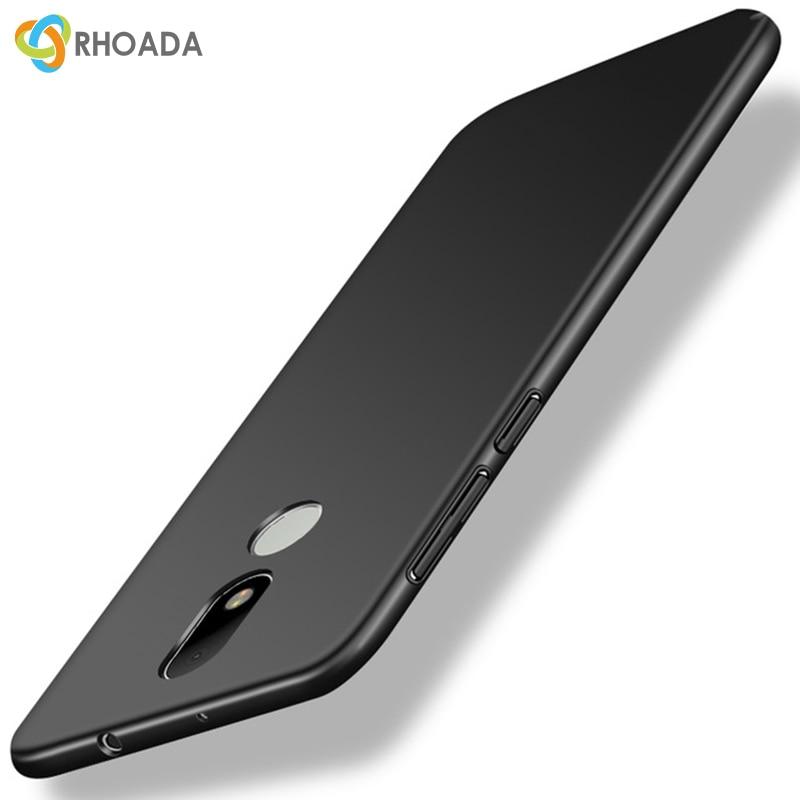 RHOADA Case For Motorola Moto G5S Case 360 Protection Slim Matte Hard Back Cover For Moto G5S Plus Z Play G4 Plus M Phone Cases