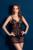 Mujeres tentación Encaje Transparente Camisón Profundo Escote En V Floral Midnight Erótico Camisón Cómodo Slips Pijamas de Gama Alta de la Ropa Interior 2016