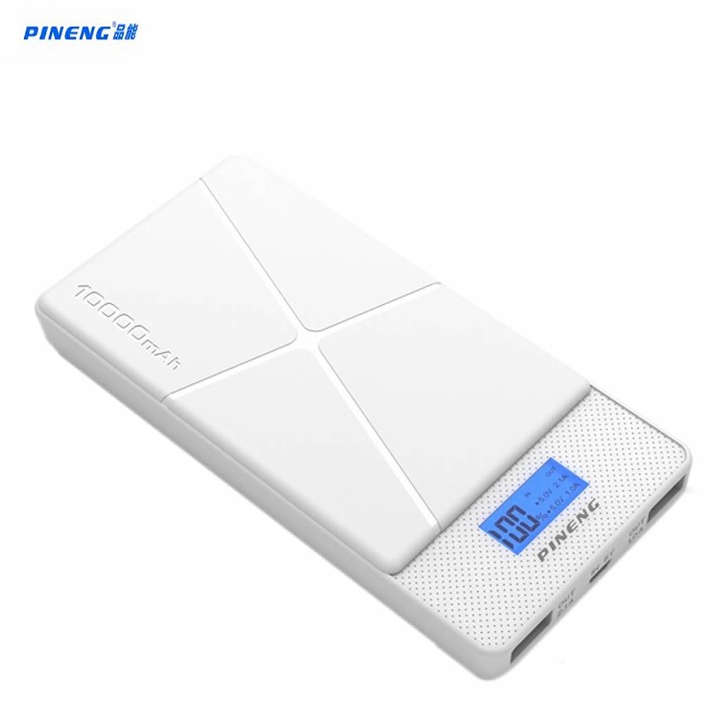 Original pineng pn-983 10000 mah banco de la energía del banco portable de la ba