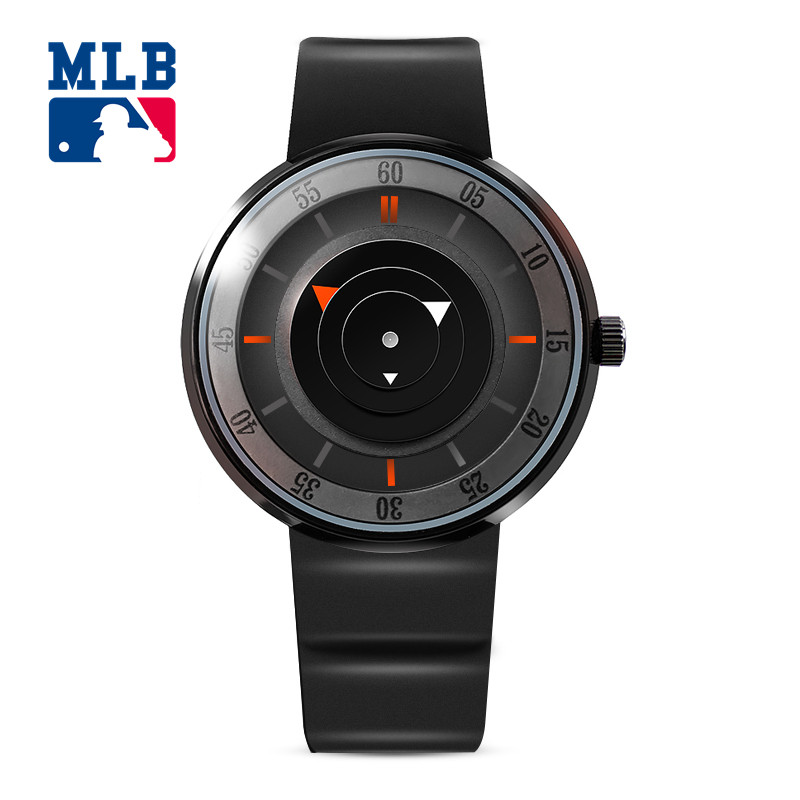 2017 MLB NY Luxury Brand Fashion Personality Quartz Waterproof Silicone Band for Men and Women Wrist Watch Hot Clock NY002 mlb time square series fashion sport couple watch waterproof wristwatch leather band quartz watch for men and women sd008