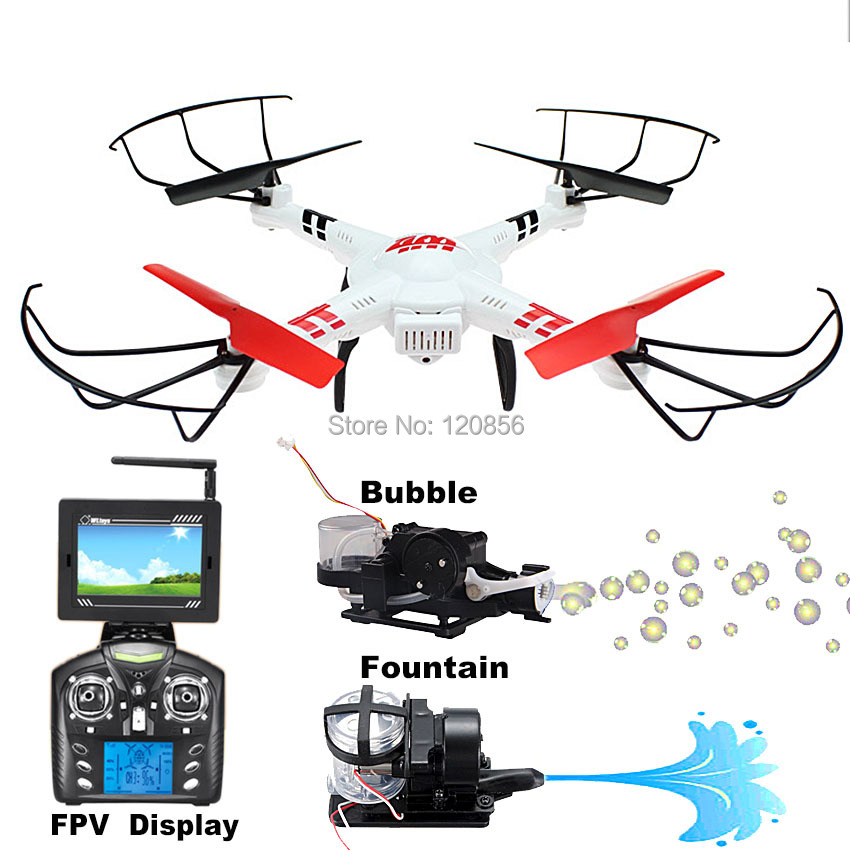 WLtoy V686G FPV RC quadcopter drone helicóptero con 5.8G WIFI Real en tiempo de