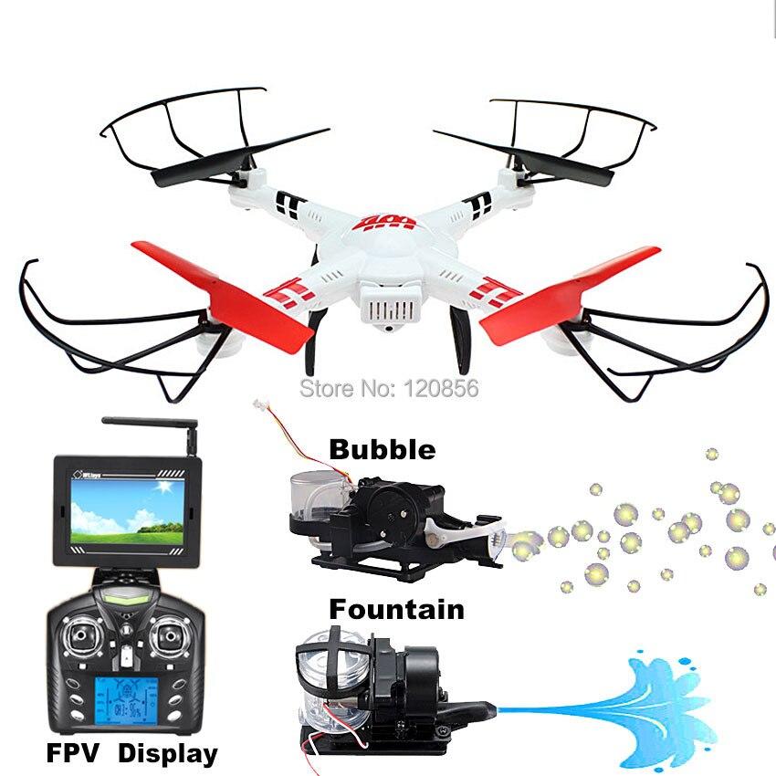 WLtoy V686G RC drone quadcopter elicottero con 5.8G FPV WIFI Reale tempo bolla della macchina fotografica fontana vs syma x5c x8w x8hc x8hw x8g X8C