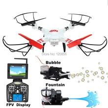 WLtoy V686G RC drone мультикоптер вертолет с 5.8 Г FPV WI-FI Реального время камера Пузырь Фонтан VS Syma X5C X8W X8HC X8HW X8G X8C