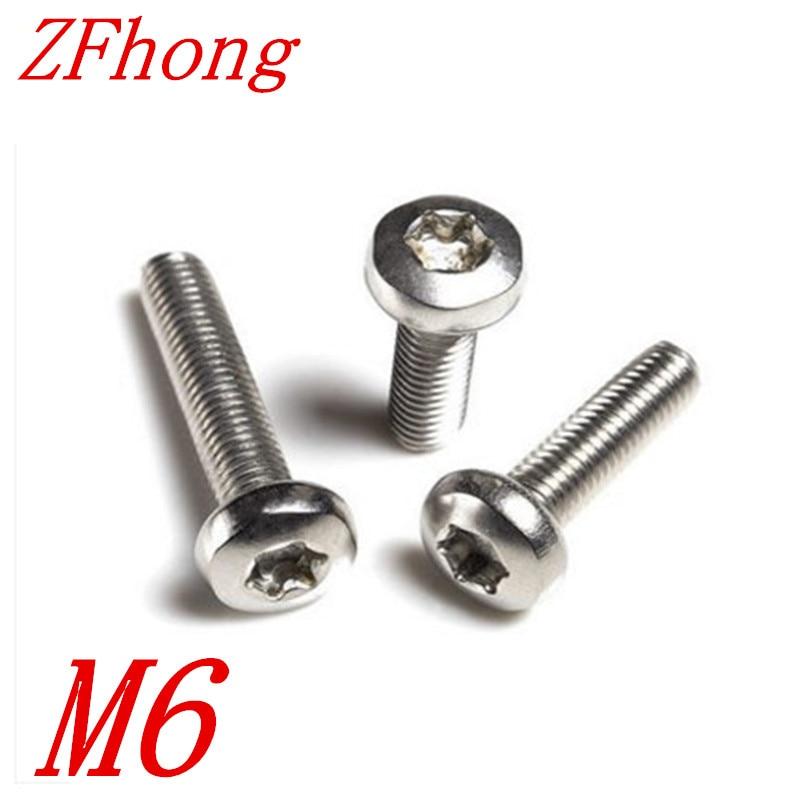 20pcs M6*12/16/20/25/30/35/40/45/50 stainless steel torx round pan head machine screw щебень фракция 20 40 мм 50 кг