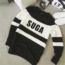 BTS Black And White Sweatshirts [All Members]