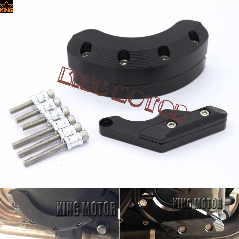 For YAMAHA XJ6 DIVERSION 2009-2015 FZ-6R 2009-2013 & FZ-6N/S 2004-2009 Left Right Side Engine Case Guard Cover Protector Slider  абитуриент 2009