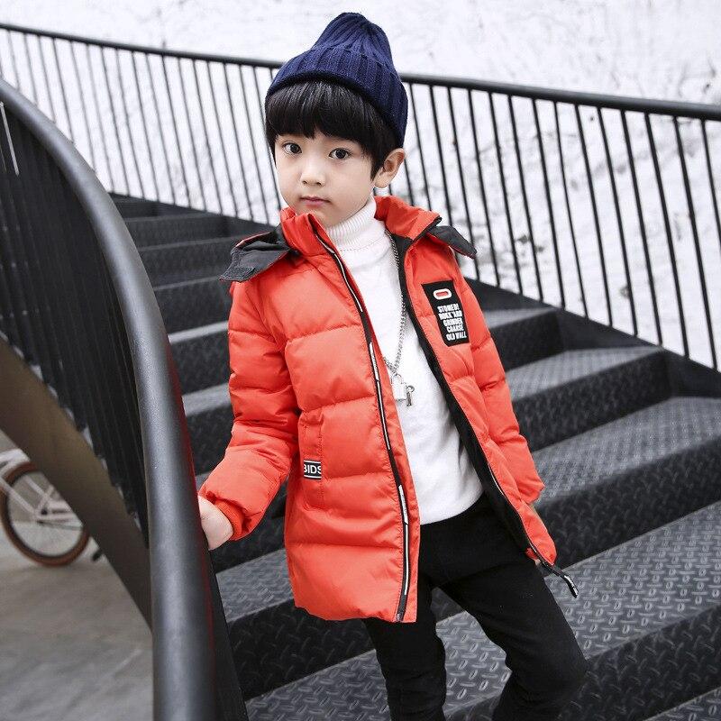 2018 Winter New Ear Long Coat Small Boy Long Coat Leather Coat2018 Winter New Ear Long Coat Small Boy Long Coat Leather Coat