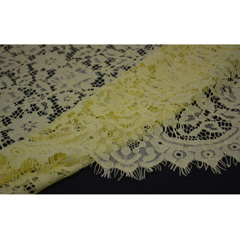 Image 4 - Free shipping ! Openwork eyelash lace wedding dress fabric curtain background lace fabric wide 150cm  ZZ086-in Lace from Home & Garden on AliExpress