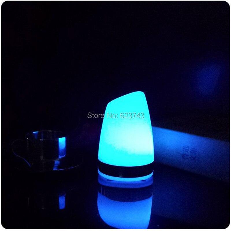 1 шт. красочные сменная аккумуляторная цилиндра бар настольная лампа LED dimmable ночь свет для бара украшения