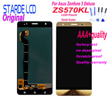 Starde Lcd for ASUS Zenfone 3 Deluxe Z016S Z016D ZS570KL LCD Display Touch Screen Digitizer Assembly ZS570KL Screen Replacement цена и фото
