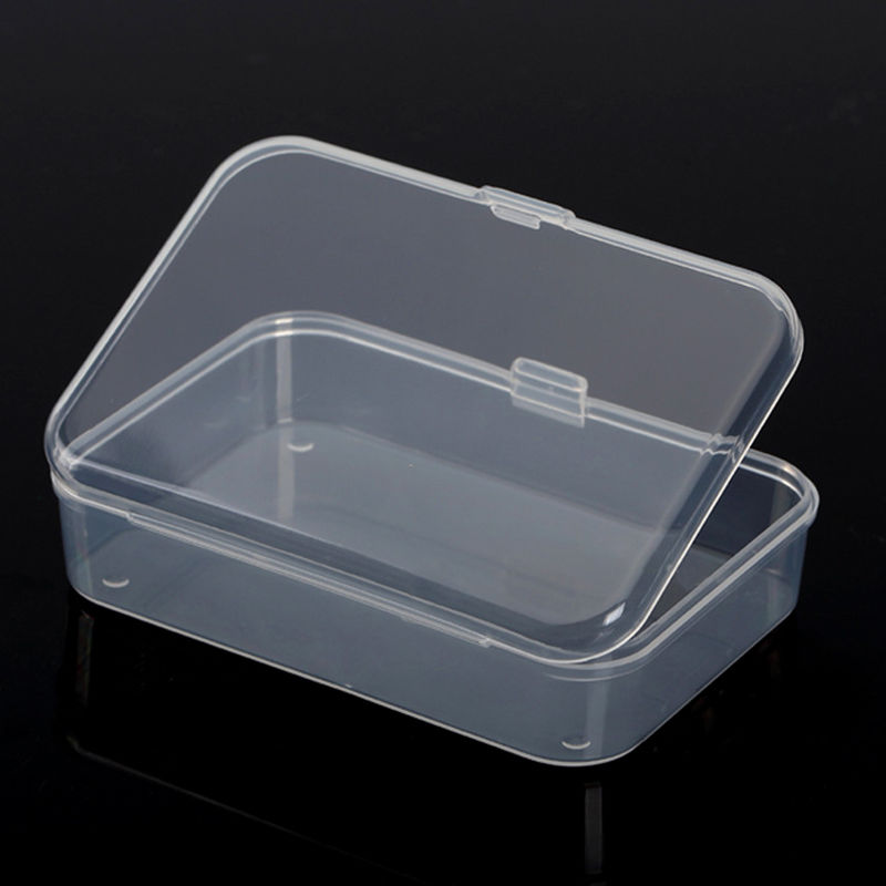 1X Plastic Storage Box Playing Cards Case Business Card Holder Card ...