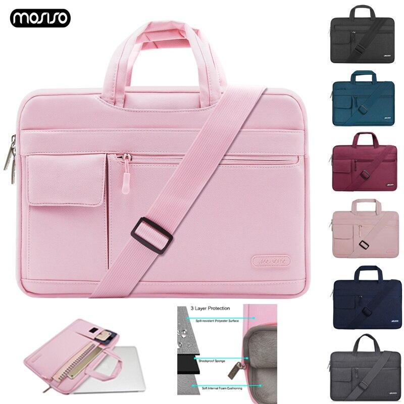 MOSISO Laptop Bag Case 1 12 13.3 14 15.6 Inch Messenger Bags For MacBook Air 13 Case Waterproof Notebook Bag For MacBook Pro 15