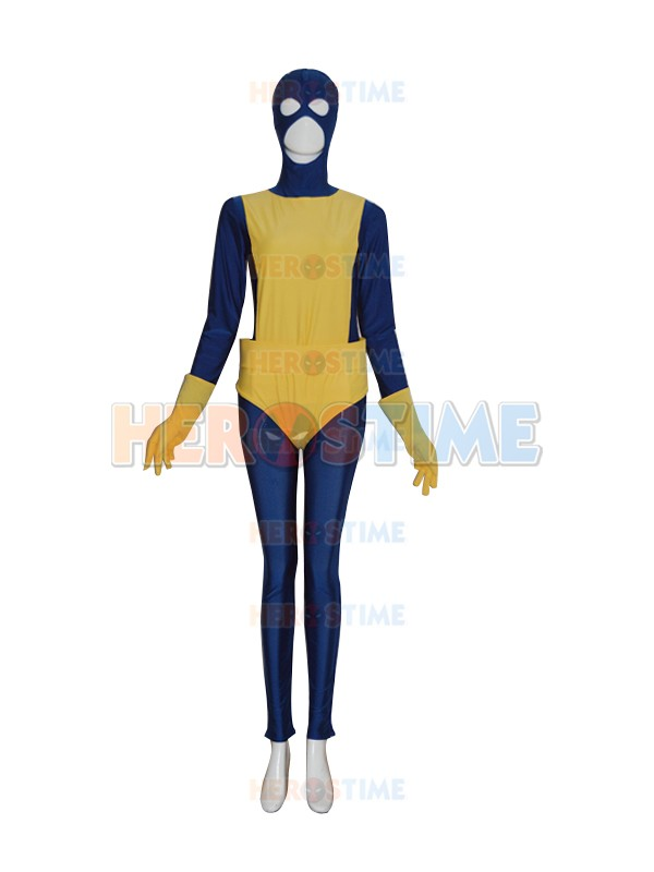 New Style X-men Superhero Costume Lycra Spandex Adults Zentai Bodysuit Full Body Suit Free Shipping