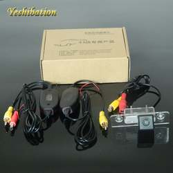 Yeshibation Автостоянка Беспроводной сзади Камера для Ford Fusion 2002 ~ 2012 Обратный резервного RCA видео 2,4 ГГц приемник передатчик комплект