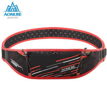 AONIJIE Running Bag Men Women Belt Jogging Fanny Pack Gym Fitness Waist Sport Marathon Trail