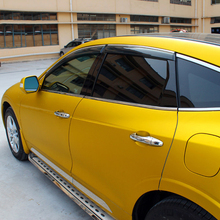 Для Honda Crosstour- автомобильные аксессуары оконный козырек вентиляционный тент дождь Солнце защита от ветра дефлекторы с хромированной отделкой