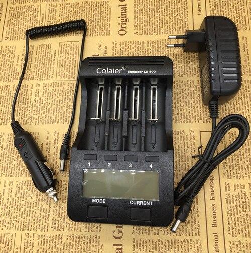 2016 Colaier Lii-500 NiMH Battery Charger,3.7V 18650 26650 1.2V AA AAA 5V output LCD smart charger lii500 Liitokala