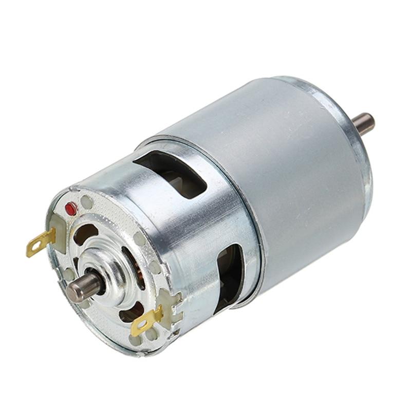 775 Motor DC 12V 10000rpm Motor Ball Bearings 150W Large Torque High Speed Large torque Power Motor Electric Tool large torque high power motor 775 dc motor 12v 300w 18500 rpm diy