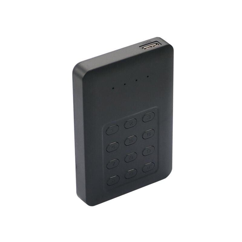 external hard drive 1TB/750GB/500GB/320GB USB 3.0 external 2.5 tool free hdd enclosure keyboard password hard drive blueendless it8728f gb