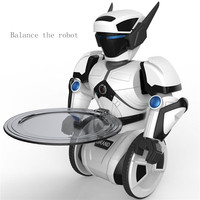 Remote control intelligent robot model balance sensor RC toys dance fight electric toys children gifts Robot