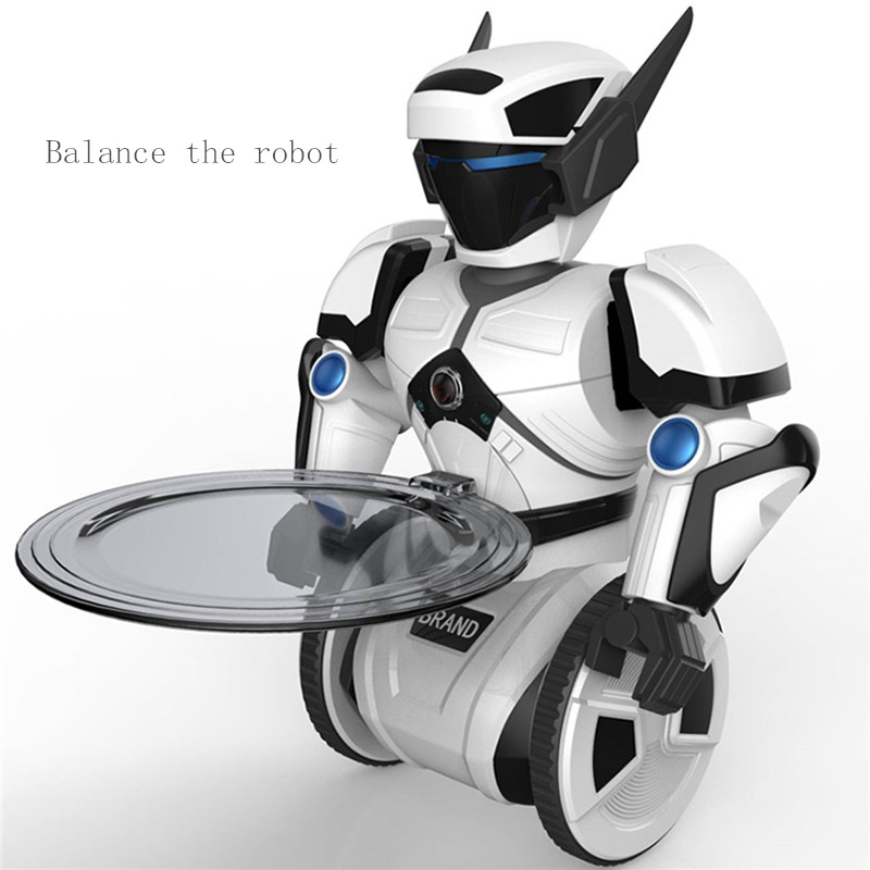 цена Remote control intelligent robot model balance sensor RC toys dance fight electric toys children gifts Robot