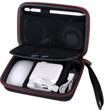Smatree Hard Case Voor Magic Mouse, voor Apple Potlood, voor Magsafe lichtnetadapter, voor Magnetische Oplaadkabel Carry Case A90