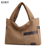 2017 Hot Sale Top Quality Canvas Women Solid Shoulder Bag Handbag Casual Large Capacity Travel Bag
