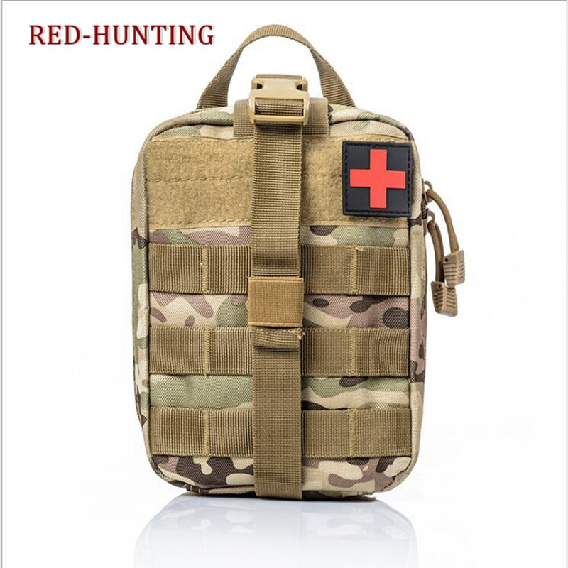 Multicam ACU Camouflage Bag Hunting Gear Tactical MOLLE Rip-Away EMT Medical First Aid IFAK Blowout Pouch