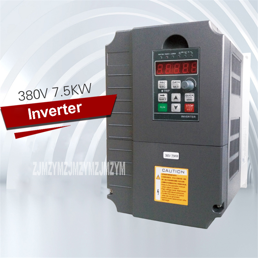 цена на High Quality SL-475EE 7.5KW Inverters AC 220V/380V Three-phase Inverter 0-400Hz Variable Frequency Drive Inverter Hot Selling