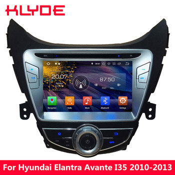KLYDE Android 8.0 Octa Core 4GB RAM 32GB ROM Car DVD Multimedia Player Stereo For Hyundai Elantra Avante I35 2010 2011 2012 2013