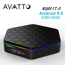 Genuino T95z Plus 2 GB/16 GB Amlogic S912 Android 6.0 Smart TV Box octa-core Kodi17.0 Totalmente carga, 5 GWIFI, BT4.0, 4 K, H.265 Decodificador