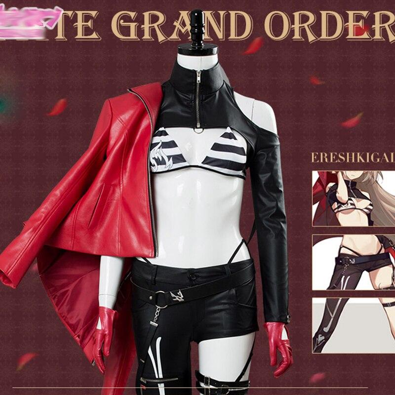 efd951acb70df Kader/Büyük Sipariş Alter Cosplay FGO Ereshkigal Ay Kız Arkadaşı Lolita Elbise  Kostüm Seksi Güzel
