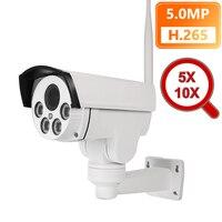 5MP 2MP 5X 10X Optical Zoom Wifi IP Camera PTZ Bullet Outdoor 1080P Wireless IR Night Onvif Audio CCTV IP Camera ONVIF 64GB Card