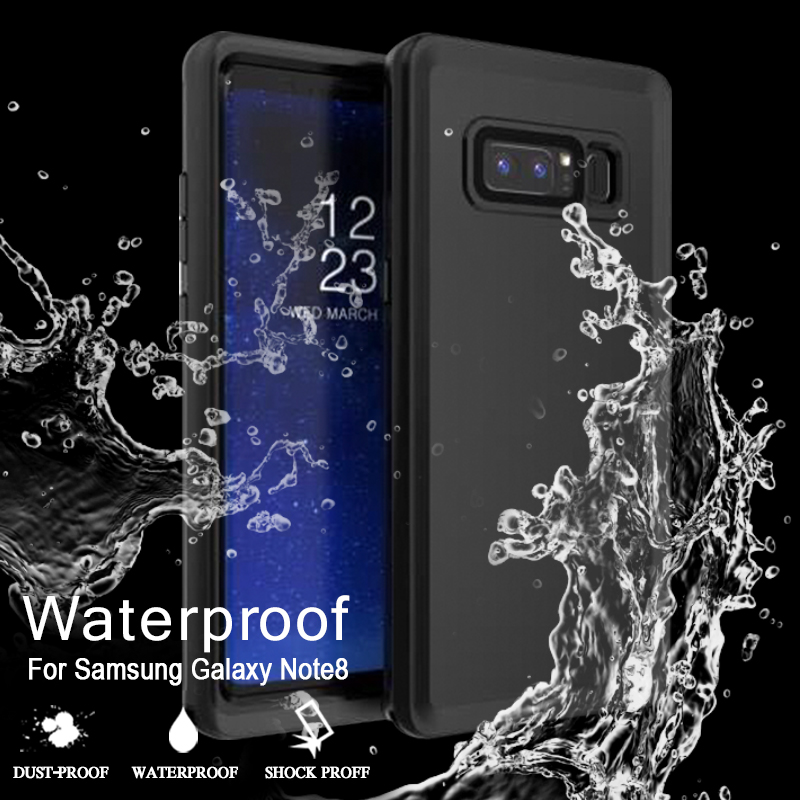 waterproof case for samsung note 8 original silicone cover for samsung galaxy note 8 case cute shockproof case for galaxy note 8