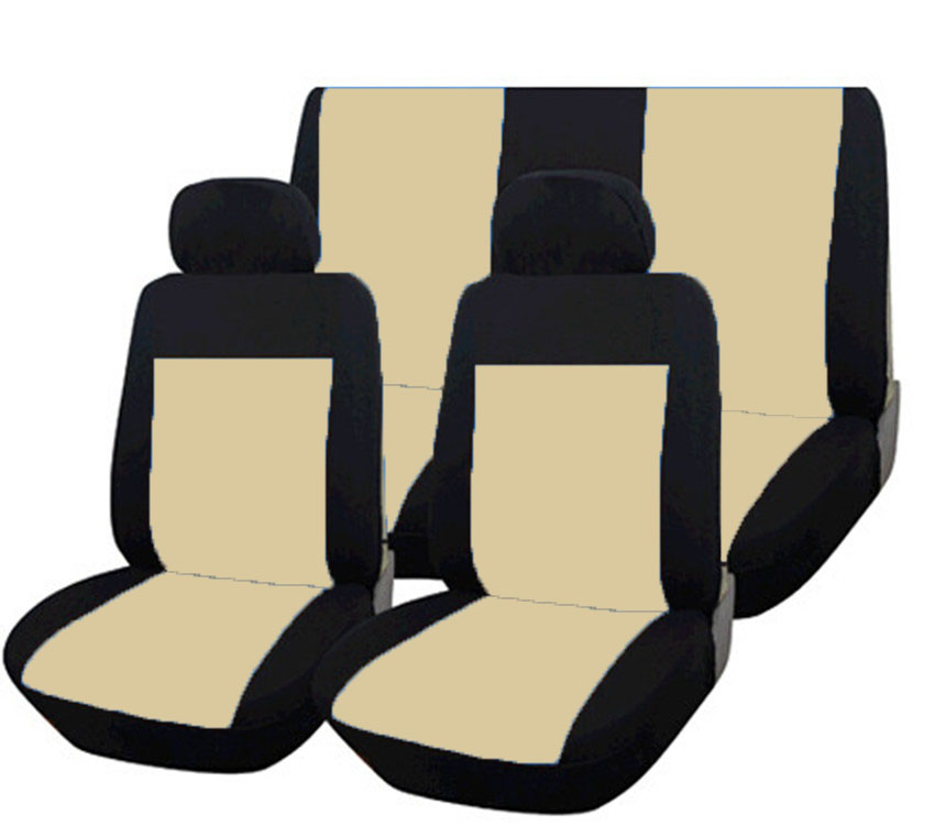 New High Quality Universal Car Seat Cover Set Full Seat Covers for Crossovers Sedans Auto Interior Styling Decoration Protect in Automobiles Seat Covers from Automobiles Motorcycles