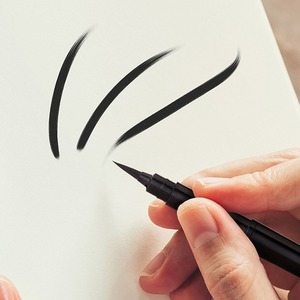 Image 5 - Pentel Arts Pocket Scientific Brush Pen, 분수 리필 가능 서예 브러쉬 2 개 포함 검정색 잉크 리필 GFKP3