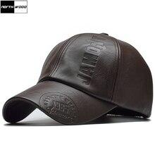 [NORTHWOOD] Новая высококачественная Зимняя кепка, искусственная кожа, бейсболка, Мужская бейсболка, кепка для мужчин, Кепка для водителя грузовика