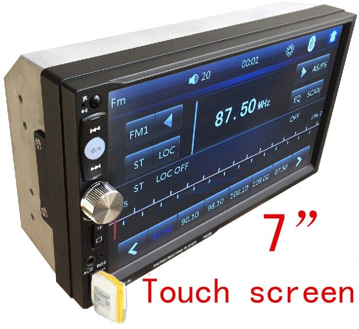 imágenes para Envío gratis 2DIN Coche DVD/MP3/mp5/usb/sd/reproductor de Manos Libres Bluetooth Touch screen hd sistema