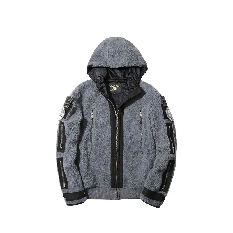 CALL OF DUTY MODERN WARFARE2 Task Force 141Ghost Zip up Jacket Hoody Costume Cos
