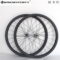 650B carbon wheelset thru Axle 142*12mm MTB XC Mountain Bike wheels 30mm hookless 27.5er Disc Brake carbon bicycle wheels