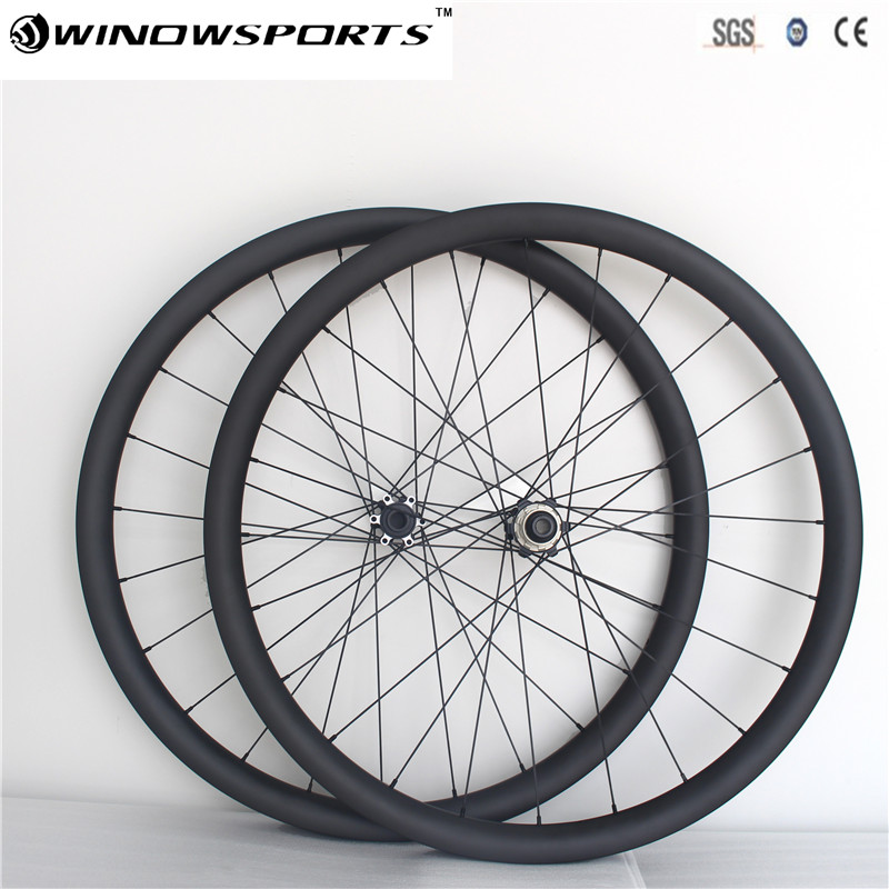 650B carbon wheelset thru Axle 142*12mm MTB XC Mountain Bike wheels 30mm hookless 27.5er Disc Brake carbon bicycle wheels цены онлайн