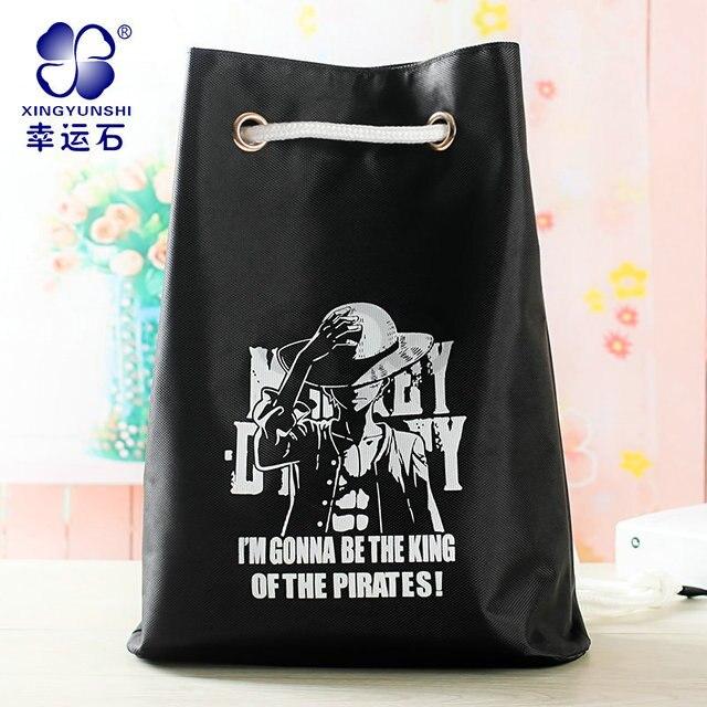 8b0ea49e0885 anime ONE PIECE fashion backpack Gym Bag design for Monkey D Luffy Chopper  Trafalgar Law Ace