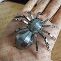 Mini Qute Piece Fun 3D animal insect Tarantula Metal Puzzle adult models educational toy 3D laser cut Christmas gift interesting