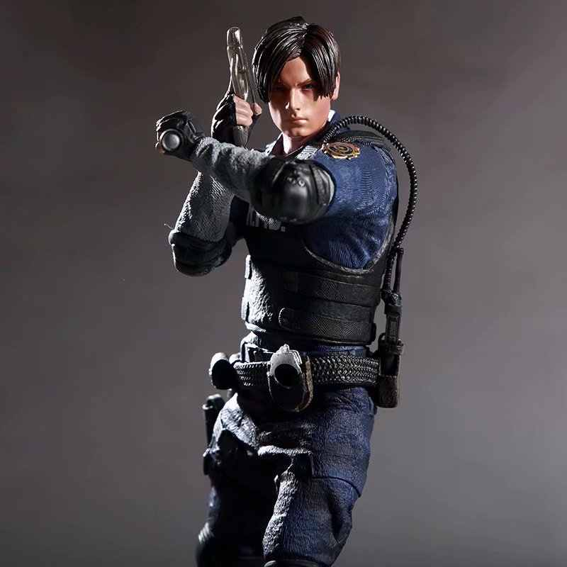 Oyun karakteri Leon Scott Kennedy Action Figure koleksiyon Model oyuncak